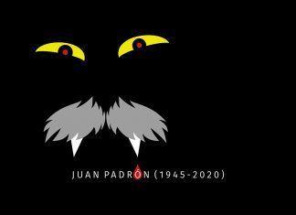 Cartel Juan Padrón (1947-2020), diseño Pilar Fernández Melo