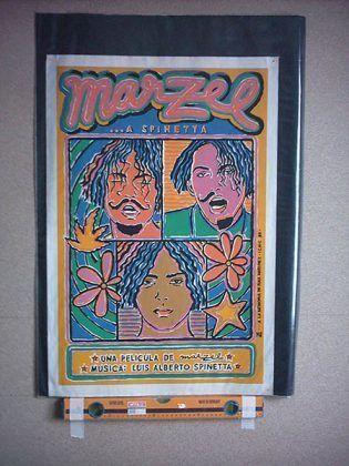 Cartel de Marzel... A Spinetta 1994 dir. Marzel | Rialta