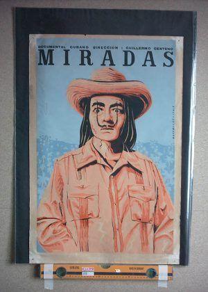 Cartel de Miradas 1990 dir. Guillermo Centeno | Rialta