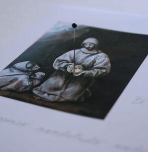 El Cráneo de la Meditación de S Francisco Detalle | Rialta