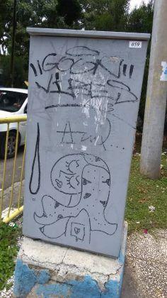 Grafiti de Azul FOTO JMR | Rialta