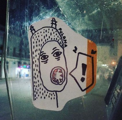 Grafiti de fulanaletal FOTO Instagram 3 | Rialta