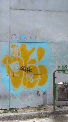 Grafiti de fulanaletal y Azul FOTO JMR | Rialta
