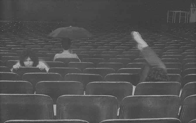 Marín y Marzel dentro del Cine Chaplin 2 | Rialta