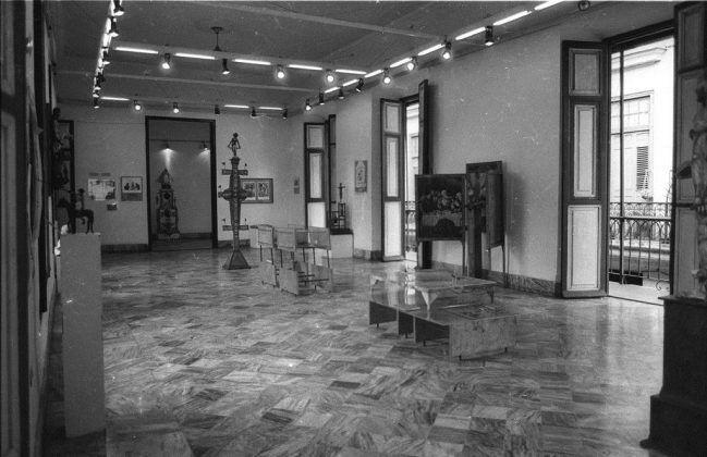 Vista de la exposición ʽUna Mirada Retrospectiva' Galería del Centro Provincial de Artes Plásticas y Diseño 1989. | Rialta