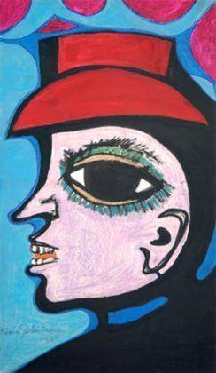 Hombre con Sombrero Rojo 1988 | Rialta