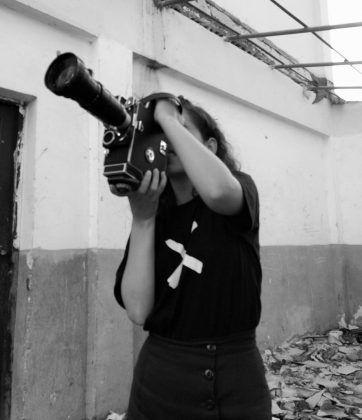 Lucy G. Morell filmando ʽSistema matutino' taller Mujeres con la cámara 2019 1 | Rialta
