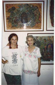 Sandra Ceballos y Cleva Solís en Aglutinador | Rialta