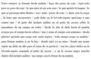poema muñon | Rialta