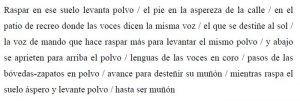poema tabla | Rialta