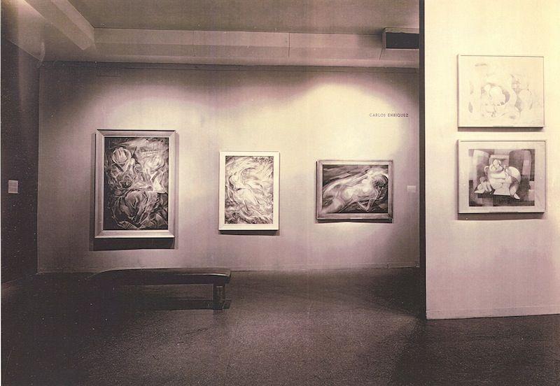 Vista de la exposición 'Modern Cuban Painters' MoMA 1944 CUBAN ART NEWS | Rialta