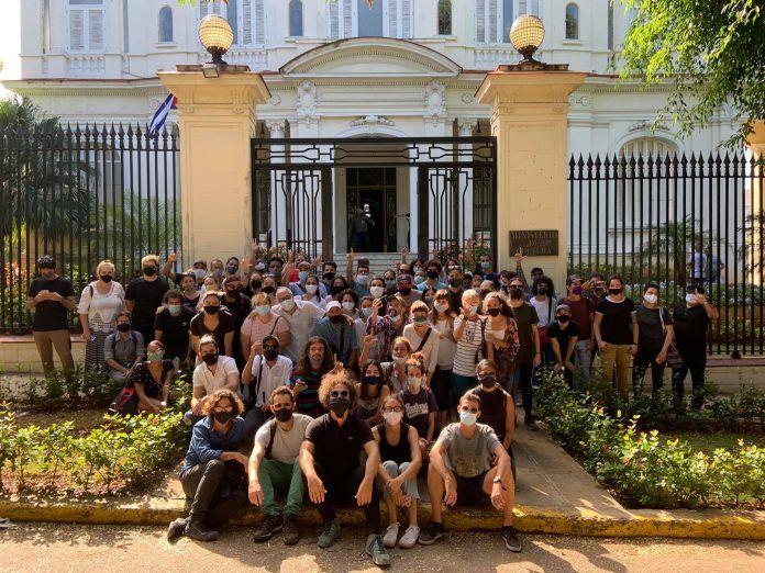 Acontecimiento 27 de noviembre Ministerio de Cultura Cuba