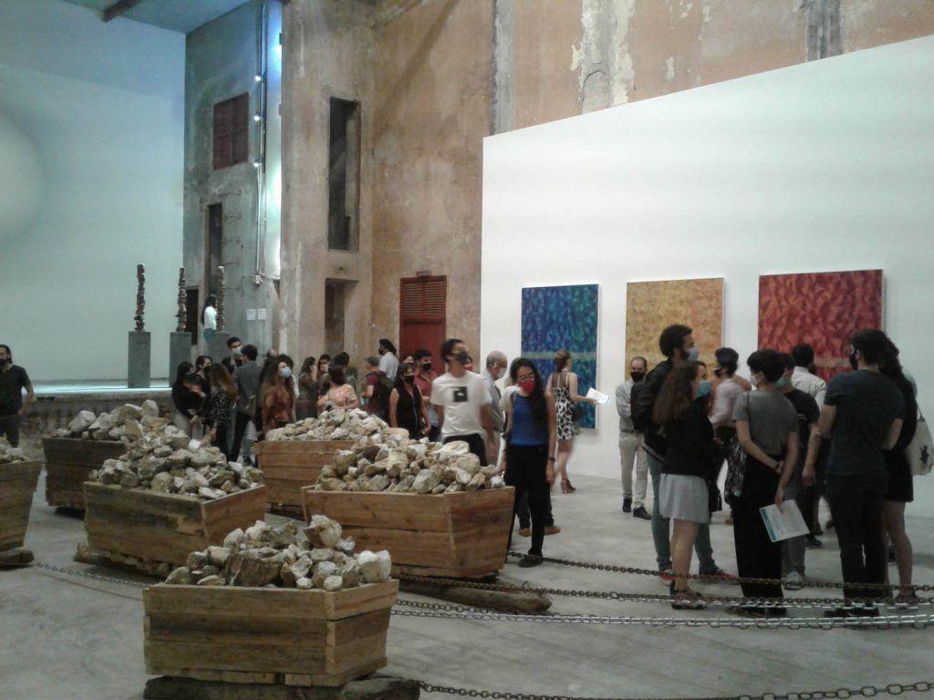 Inauguración de la exposición colectiva Mirador circular   Rialta