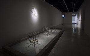 Vista de la exposición ʻNovas Bleeda' Glauber Ballestero galería Acacia 2020 3 | Rialta