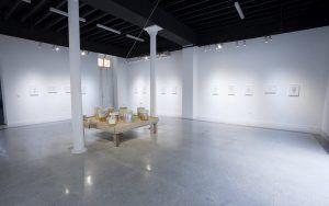 Vista de la exposición ʻNovas Bleeda' Glauber Ballestero galería Acacia 2020 4 | Rialta