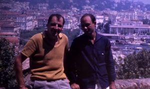 Wahl y Sarduy durante uno de sus viajes a Marruecos | Rialta