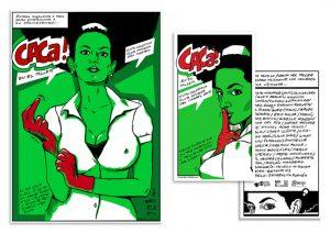 Cartel para expo del Club Amigos de CArtel CACa cartel Darwin Fornes cartel y volante | Rialta