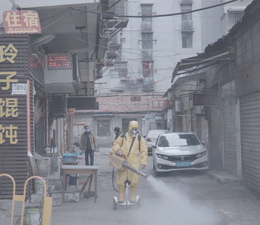 Fotograma del documental CoroNation Ai Wei Wei dir. 2020   Rialta