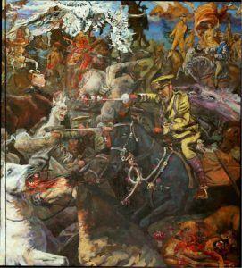 Los Unos batallando Miguel Alejandro Machado 2015 | Rialta