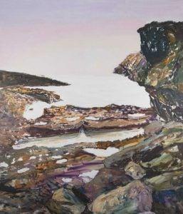 Miguel Alejandro Machado. Canasí 2020. Oil on wood 200 x 170 cm | Rialta