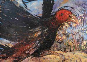 Miguel Alejandro Machado. El día que nací 2020. Oil on canvas 200 x 280 cm | Rialta