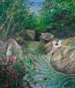 Miguel Alejandro Machado. Río Santa Cruz 2020. Oil on canvas 200 x 170 cm | Rialta
