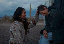 Chloe Zhao y Frances McDormand durante la filmacion de Nomadland   Rialta