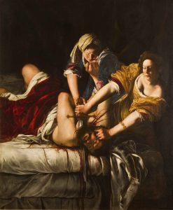 Judit decapitando a Holofernes de Artemisia Gentileschi circa 1613 | Rialta