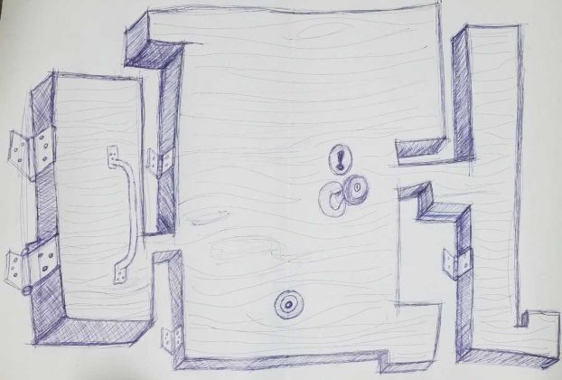 De la serie serie 'Puertas', Luis Manuel Otero Alcántara, 2020