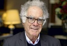 El historiador italiano Carlo Ginzburg LA TERCERA