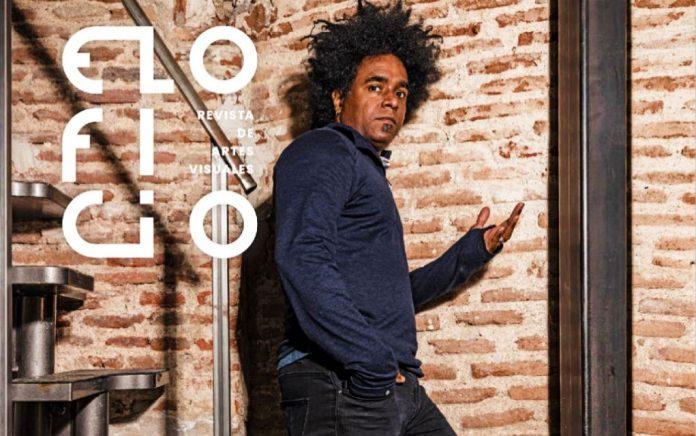 Detalle de portada de 'El Oficio. Revista de Artes Visuales', n.º 9, junio de 2021.