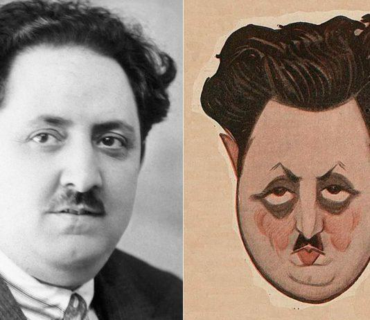 Alfonso Hernández-Catá / Caricatura de Hernández-Catá, 1922; Manuel Tovar Siles