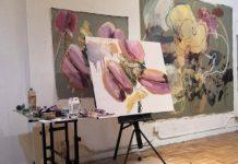 Open Studio del cubano Ángel R. Ricardo Ríos en Nueva York (Foto: Residency Unlimited)