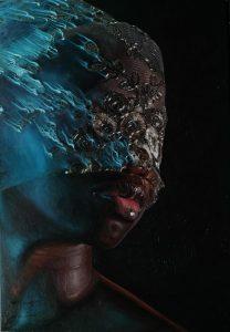 'Soul (blues)', Idowu Oluwaseun, 2021 (imagen cortesía de Reines Contemporary Art)
