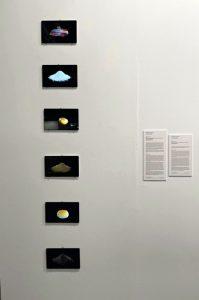 'Piedras angulares', 2021 (Seis modelos digitales obtenidos usando tecnología fotogramétrica 6 Non-fungible tokens (NFT) / Animación en loop infinito / Ed. 1 (Edición de 3 + 2 P/A)); Reynier Leyva Novo. Stand de la galería cubana El Apartamento en ARCOmadrid 2021 (Foto: Cortesía de El Apartamento)