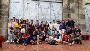 Club de amigos del Cartel (CACa) en su decimotercera reunión anual. Fábrica de arte, 2019.