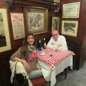 Nancy Calomarde y Antonio José Ponte