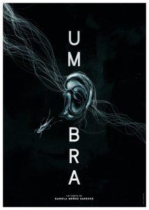 Cartel del cortometraje 'Umbra' (2021); Daniela Muñoz Barroso.