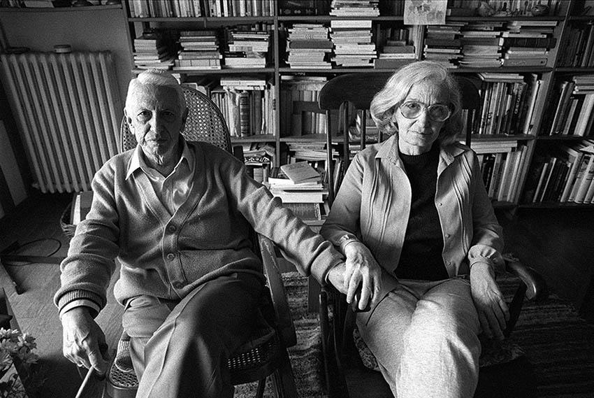 Cintio Vitier y Fina García-Marruz. EL PAÍS / Consuelo Bautista, 1997.