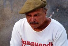 Enrique Molina. 'El cuerno de la abundancia' (2008); dir. Juan Carlos Tabío / Foto: Tomada de 'Revista Cine Cubano'