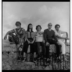 Miembros de Movimiento San Isidro. De izquierda a derecha: Amaury Pacheco, Claudia Genlui, Iris Ruiz, Michel Matos y Luis Manuel Otero.