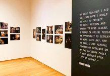 'Cuarentena: 40 días y 40 noches', de Geandy Pavón, en 'Commonplace Attachments: Artistic Practice During The COVID-19 Pandemic'. Lore Degenstein Gallery de Susquehanna University; Pensilvania, Estados Unidos.