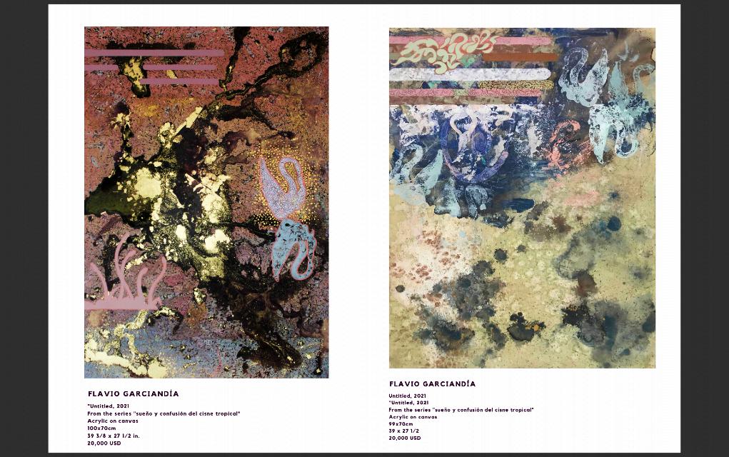 Muestra 'Seducción tropical'; Ciudad de México (Imagen: Catálogo de la exposición).