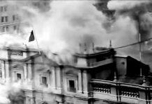 Fotograma de 'La batalla de Chile'; Patricio Guzmán