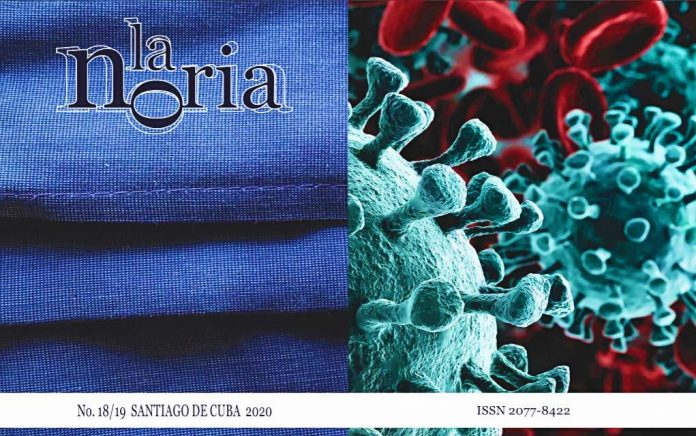 Portada y contraportada de 'La Noria', No. 18/19, 2020