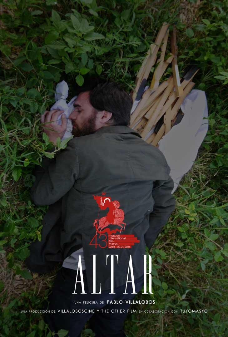 Cartel de 'Altar', Pablo Villalobos, dir. 2020