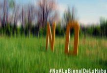 #NoALaBienalDeLaHabana (detalle) / Foto: Juan Sí González